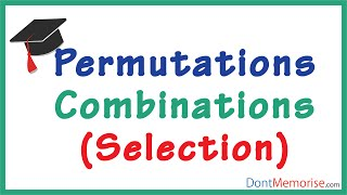 Permutations and Combinations - Counting ( GMAT / GRE / CAT