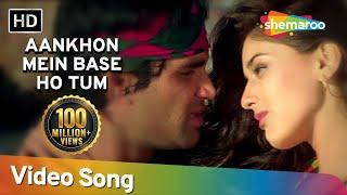 Aankhon Mein Base Ho Tum (Duet) | Sunil Shetty | Sonali Bendre | Takkar | Bollywood Songs | Abhijeet