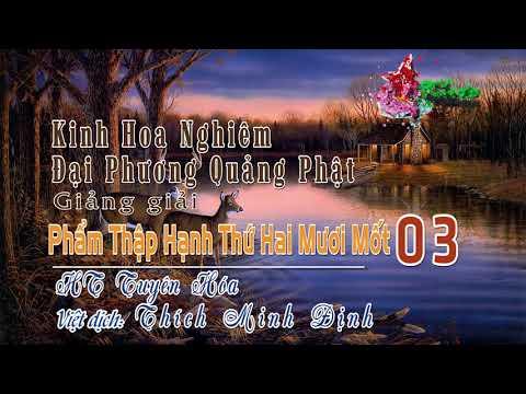 Phẩm Thập Hạnh Thứ Hai Mươi Mốt 3/11