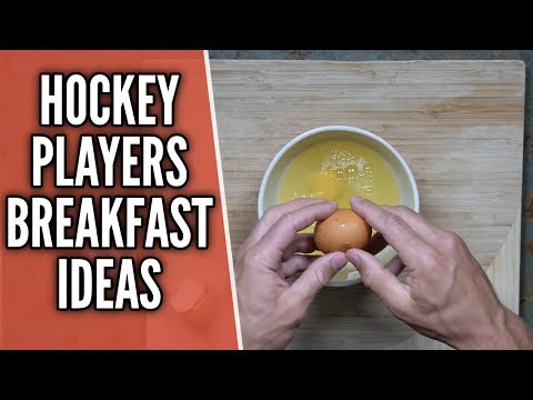 3 Healthy Breakfast Ideas For Hockey Players 🍎🏒