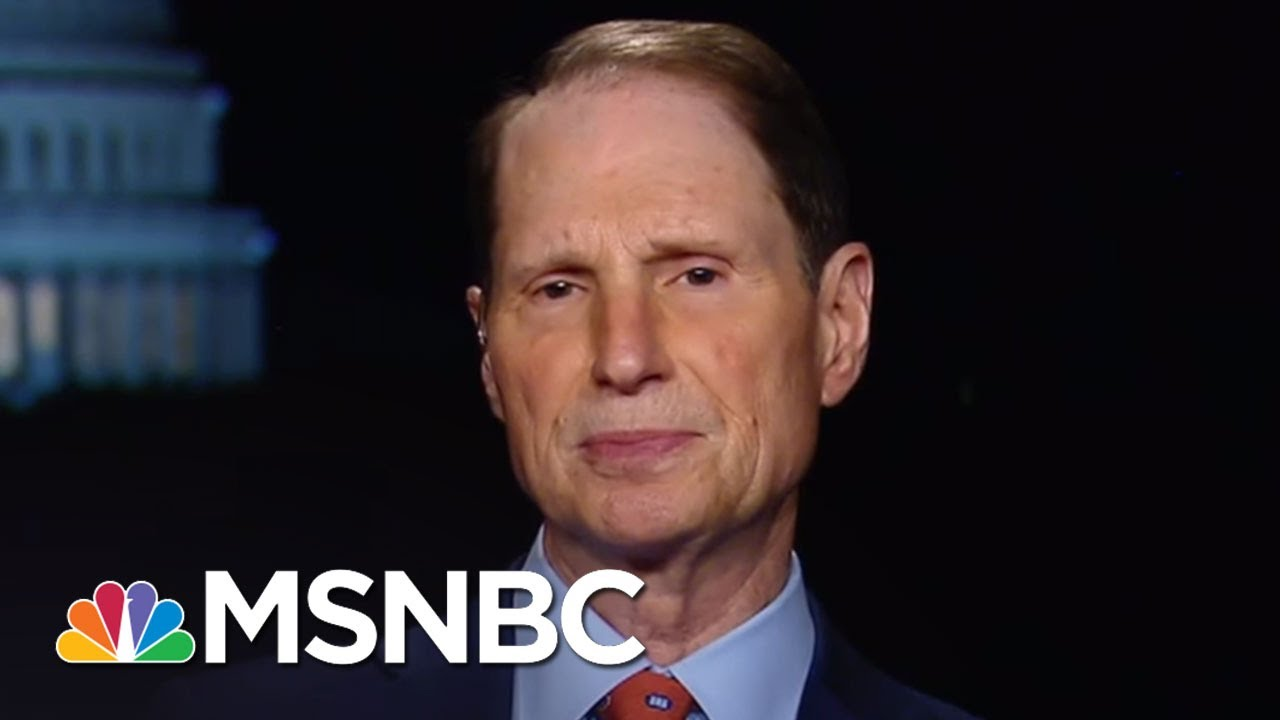 'Watergate-Level': Sen Ron Wyden On Trump Actions In James Comey Testimony   Rachel Maddow   MSNBC thumbnail