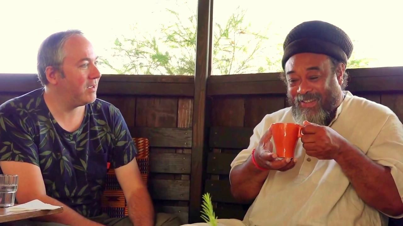 Patrick Kicken meets MOOJI, at Monte Sahaja, Portugal - YouTube