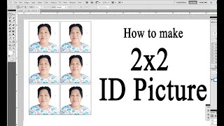 How to make 2x2 picture in Photoshop. Create 2x2 picture in easy way