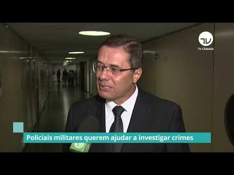 Policiais militares querem ajudar a investigar crimes - 04/02/19