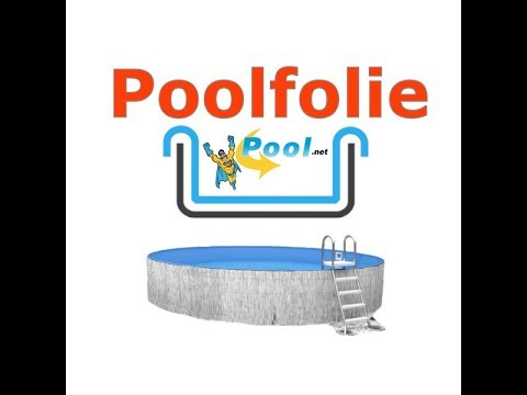 Poolfolien-Montage mit Pool.Net im Germany-Pools Stahlwandpool