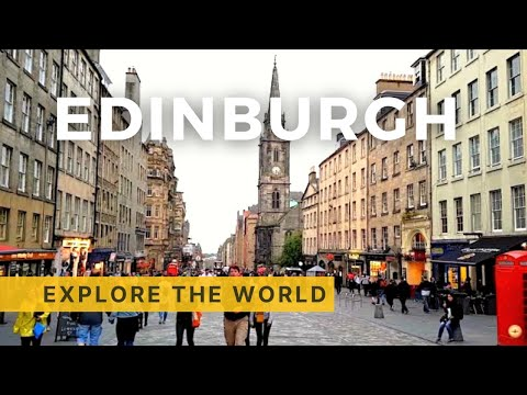 Walking In Edinburgh, UK Mp3