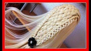 BASKET BRAID HAIRSTYLE / Hair Glamour  /  Braids Hair Tutorial