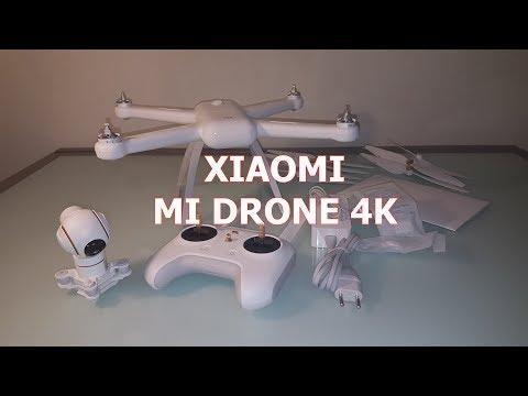 Unboxing - Xiaomi Mi drone 4k, quiere y puede!