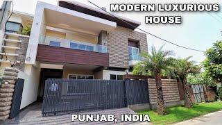 Modern Luxurious House   5 Bedroom    Theatre Room    Lift   Luxury Washroom   II Designs   Punjab