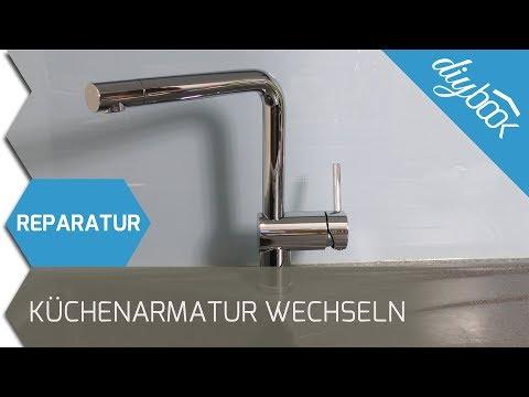 Wasserhahn Reparieren Und Entkalken Einhebelmischer How To Repair