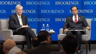 A conversation with President Joko Widodo of Indonesia