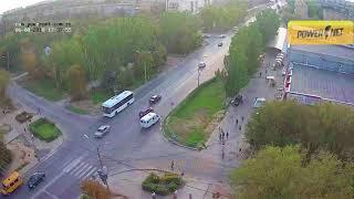 ДТП (авария г. Волжский)  ул. Мира ул. Пионерская 06-08-2018 17-37