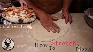 """HOW TO STRETCH A REAL PIZZA """"Slap Technique"""""""