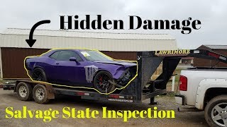 Rebuilding a Wrecked Dodge 2016 Hellcat bought from Copart Part 2