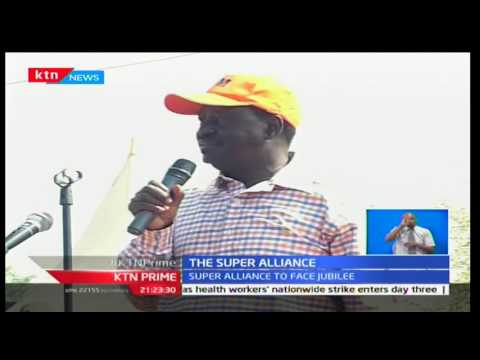 KTN Prime: Wiper Leader Kalonzo Musyoka breaks his silence on Raila and Mudavadi's announcement