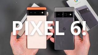 Google Pixel 6 & Google Pixel 6 Pro Unboxing & Tour!