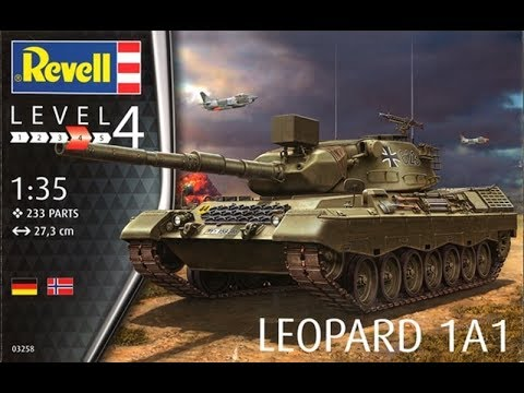 Kit and Build review: Revell Leopard 1A1 #03258
