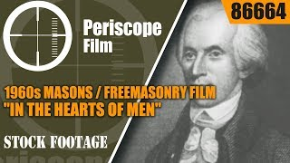 1960s MASONS / FREEMASONRY FILM  IN THE HEARTS OF MEN 86664