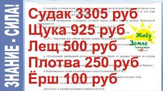 Новые законы о рыбалке в россии