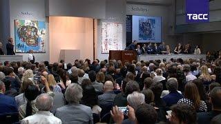 """Картину """"Без названия"""" Жан-Мишеля Баския продали за $110,5 млн на аукционе Sotheby's в Нью-Йроке"""