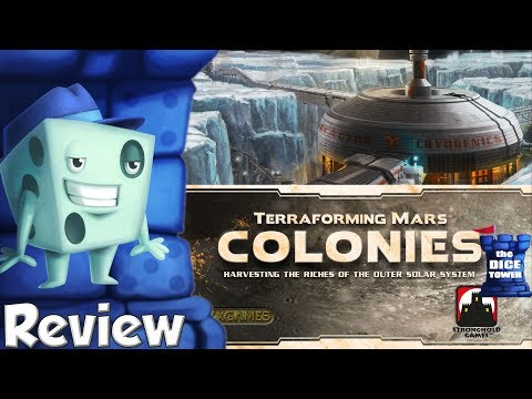Terraforming Mars: Colonies Review - with Tom Vasel
