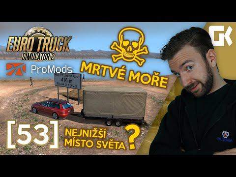 MRTVÉ MOŘE! | Euro Truck Simulator 2 ProMods & RusMap #53