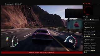 Live Need For Speed Payback !