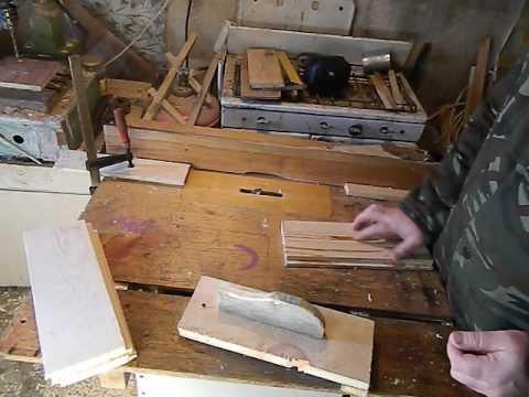 Изготовление ручки паза на боковой стенке корпуса