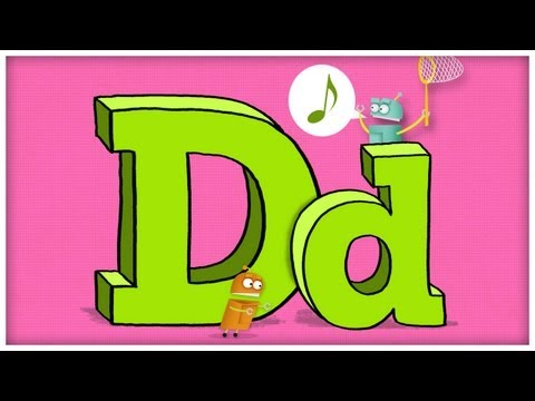 letter d song abc song the letter d quot doodley do quot by storybots 43145