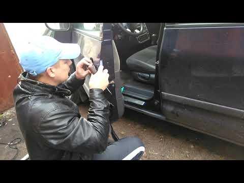 Ставим ручку двери Ford Galaxy