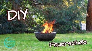 Feuerschale selber bauen - Anleitung