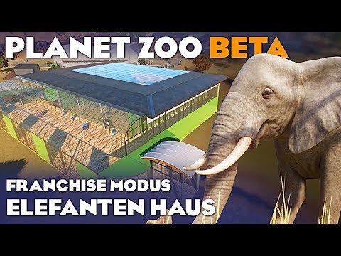 PLANET ZOO BETA ELEFANTENHAUS 4K Planet Zoo Deutsch German Gameplay #23