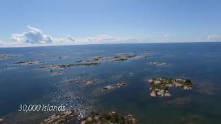 A small video of Georgian Bay (Ontario) / un court vidéo sur la baie Géorgienne (Ontario)