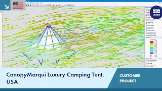 CP 001155 | CanopyMarqui Luxury Camping Tent, United States