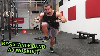 Intense 5 Minute Resistance Band Ab Workout by Anabolic Aliens