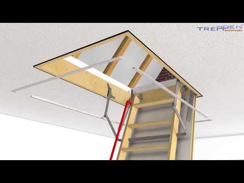 Einbau Dachbodentreppe Intercon Comfort
