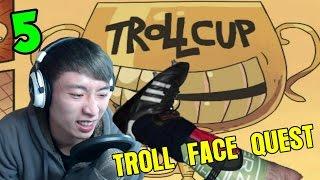 超低能世界杯...爆笑射球HE?HE?HEE?:Trollface Quest 5
