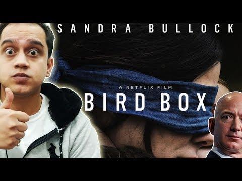 NETFLIX - BIRD BOX TRAILER REVIEW | JEFF BEZOS DIVORCE | Nargis Fakhri