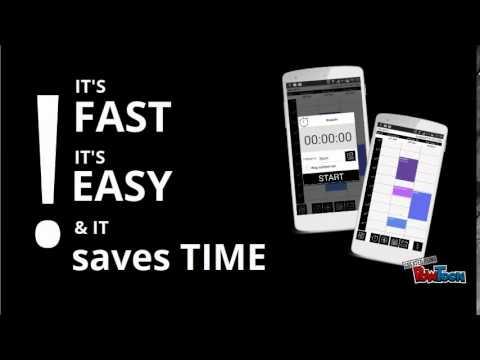 Video of TimeTracker PRO - chronology