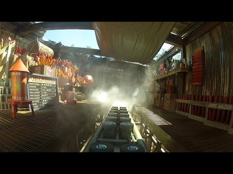 Firechaser Express Front Seat On-ride HD POV W/effects Dollywood