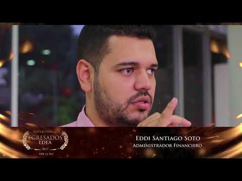 Reconocimiento Egresados TdeA: Eddi Santiago Soto
