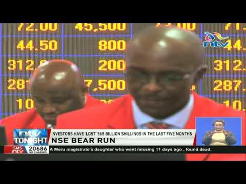 Investors 'lose' 568 billion shillings in the last five months