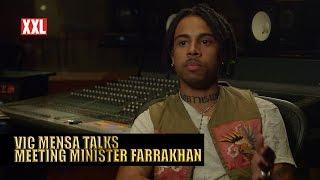 Vic Mensa Talks Meeting Louis Farrakhan