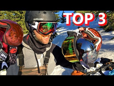 My TOP 3 Snowboard Goggle Picks