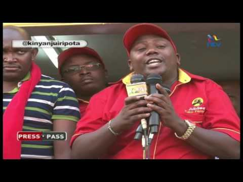 Kinyanjui reports on Jubilee Party's feuding 'babies'