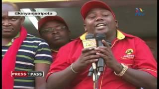 Kinyanjui reports on Jubilee Party's feuding 'babies'