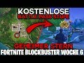Fortnite: BLOCKBUSTER Woche 6 ⭐ GEHEIMER Battle Pass STERN | Fortnite Blockbuster Herausforderungen