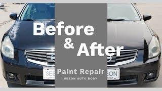 손상 페인트 복원 / Paint restore