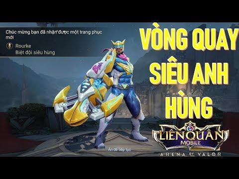 Trang phục mới ra mắt Việt Nam: ROURKE Biệt đội siêu hùng - trong vòng quay siêu anh hùng