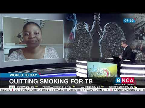 World TB Day Quitting smoking for TB